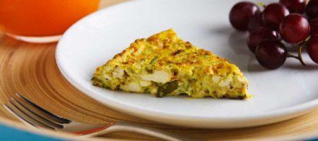 receta de calabacin vegana o receta de calabacin sin huevos.