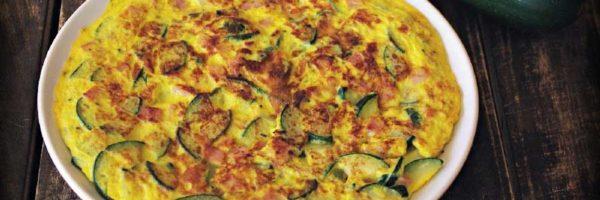 tortilla de patatas y calabacín thermomix