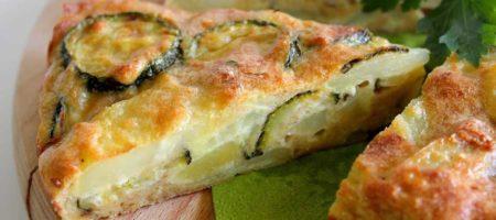 tortilla francesa de calabacin