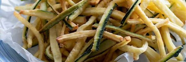 Calabacín frito